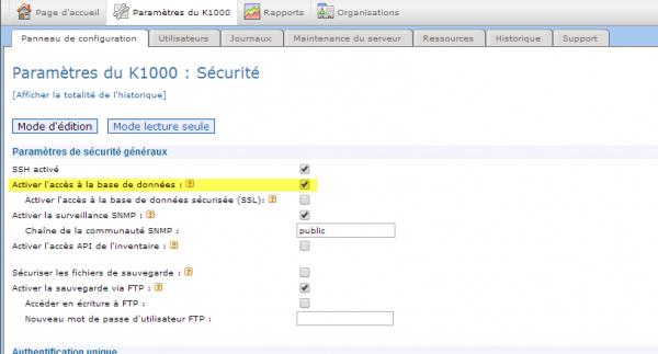 access-a-la-bdd-k1000-001