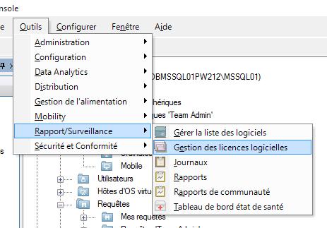 Gestion des licences logicielles LANDESK LDMS 08