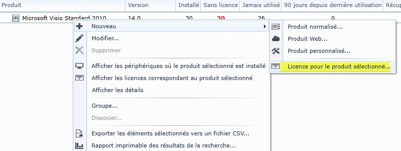 Gestion des licences logicielles LANDESK LDMS 02